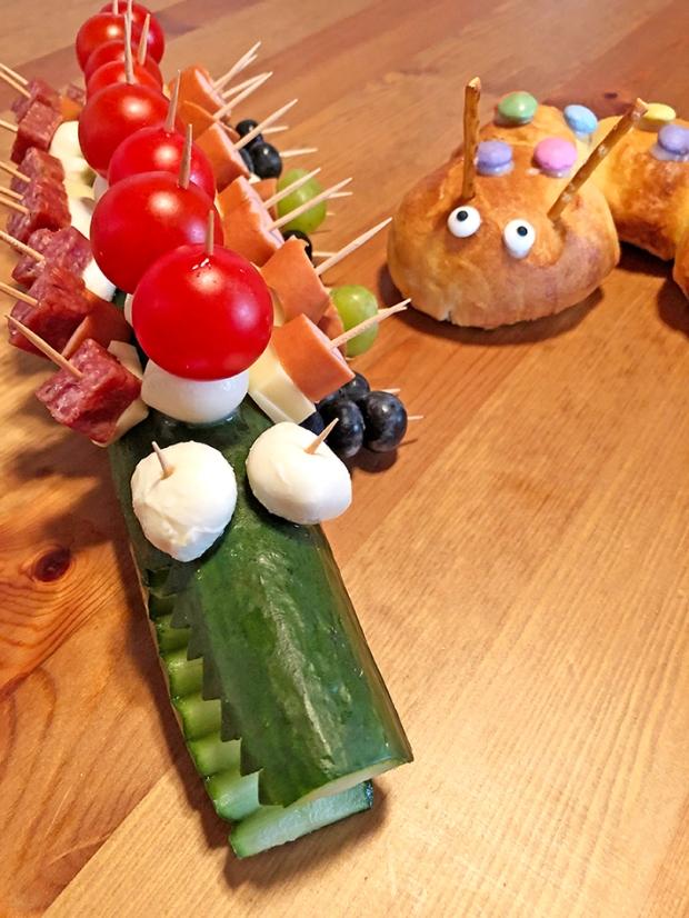 Gemüsekrokodil11